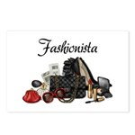 Fashionista Postcards (Package of 8)