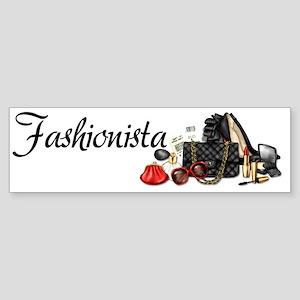 Fashionista Sticker (Bumper)
