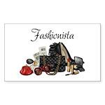 Fashionista Sticker (Rectangle)