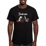 Fashionista Men's Fitted T-Shirt (dark)