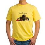Fashionista Yellow T-Shirt