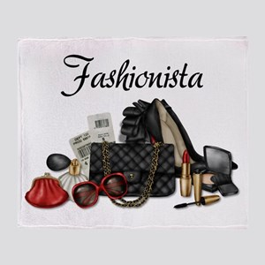 Fashionista Throw Blanket