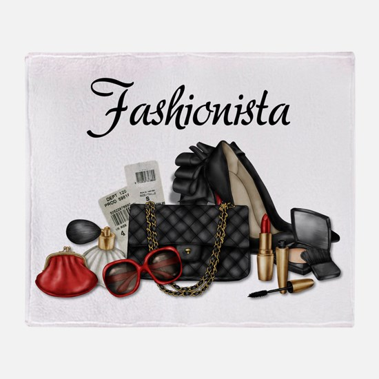 Fashionista Throw Blanket