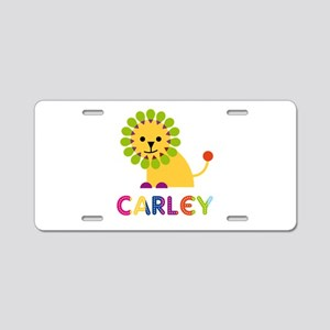 Carley the Lion Aluminum License Plate