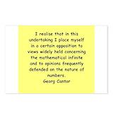 Georg cantor Postcards