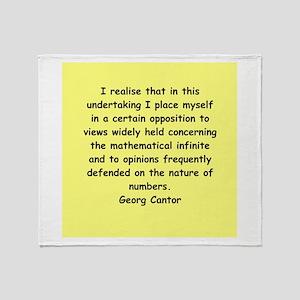 mathematics quote blankets cafepress
