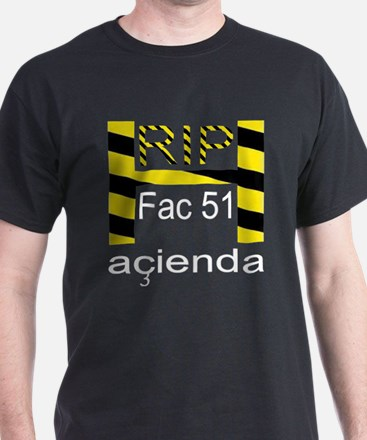 RIP HACIENDA Black T-Shirt