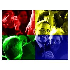 Obama Biden Love Poster