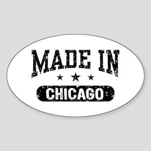 Made In Long Island Sticker (Oval)