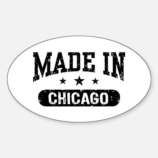 Made In Long Island Sticker (Oval)
