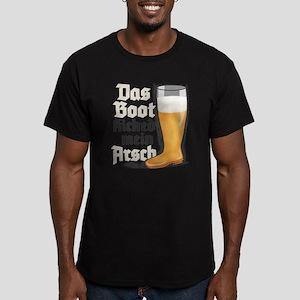 Das Boot kicked mein Arsch! Men's Fitted T-Shirt (