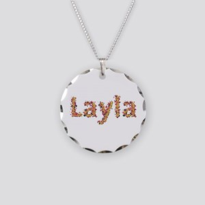 Layla Fiesta Necklace Circle Charm
