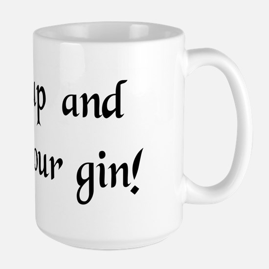 Gin Large Mug