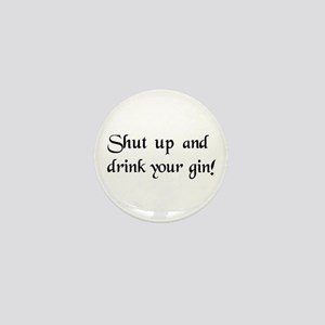 Gin Mini Button