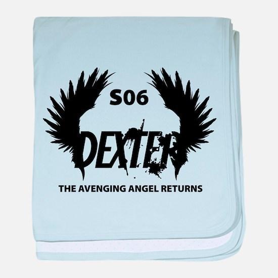 The Avenging Angel Returns baby blanket