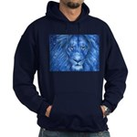 Winter Lion Hoodie (dark)