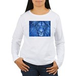 Winter Lion Women's Long Sleeve T-Shirt