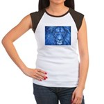 Winter Lion Women's Cap Sleeve T-Shirt