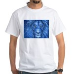 Winter Lion White T-Shirt