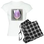 Pink Tulip Abstract Women's Light Pajamas