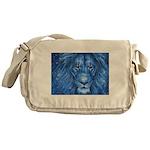 Winter Lion Messenger Bag