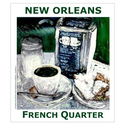 FRENCH QUARTER TREAT Poster