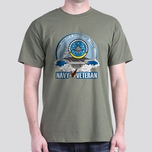 CVN-69 USS Eisenhower Dark T-Shirt