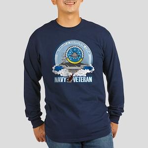CVN-69 USS Eisenhower Long Sleeve Dark T-Shirt