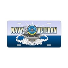 CVN-69 USS Eisenhower Aluminum License Plate