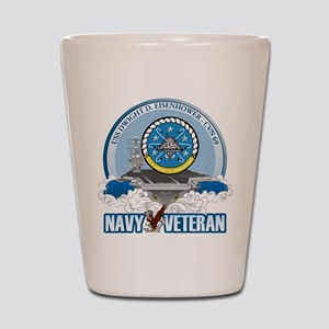 CVN-69 USS Eisenhower Shot Glass