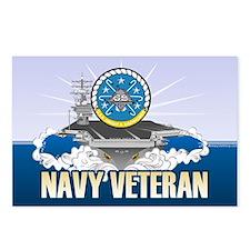 CVN-69 USS Eisenhower Postcards (Package of 8)