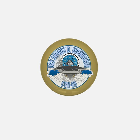 CVN-69 USS Eisenhower Mini Button