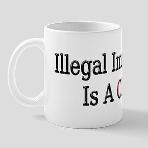 Illegal Immigration Is a Crim Mug