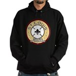 Brown Stockings Logo Hoodie (dark)