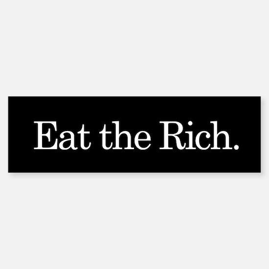 Eat the Rich, Sticker (Bumper)