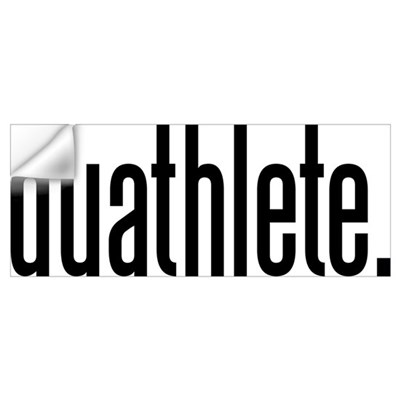 duathlete Wall Decal