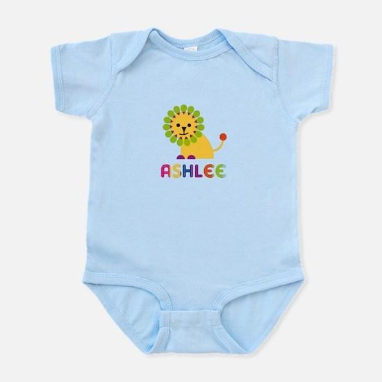 Ashlee the Lion Infant Bodysuit