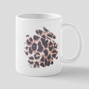Leopard Print Abstract Mug