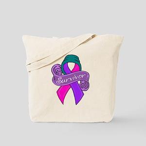 New Thyroid Survivor Tote Bag