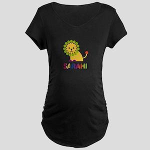 Sarahi the Lion Maternity Dark T-Shirt