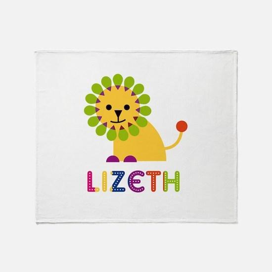Lizeth the Lion Throw Blanket