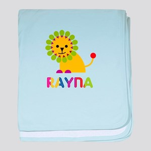 Rayna the Lion baby blanket