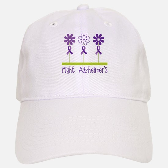 Fight Alzheimers Baseball Baseball Cap