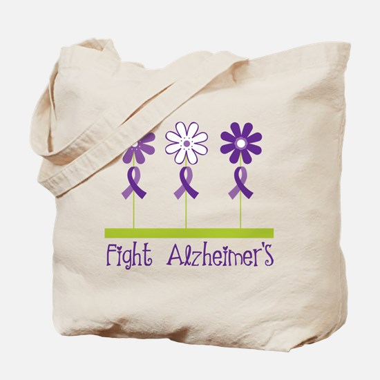 Fight Alzheimers Tote Bag