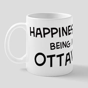 Happiness is Ottawa Mug