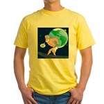 Atlas' Shoelace Problem Yellow T-Shirt