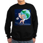 Atlas' Shoelace Problem Sweatshirt (dark)