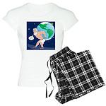 Atlas' Shoelace Problem Women's Light Pajamas