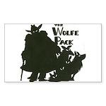 Nero Wolfe Sticker (Rectangle 10 pk)