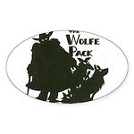 Nero Wolfe Sticker (Oval 50 pk)